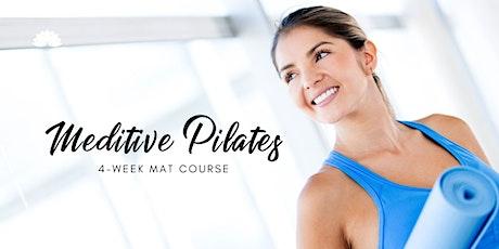 Meditative Pilates: Beginners 4wk mat course tickets