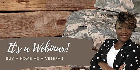 Step to Buying a Home as  Veteran[Webinar] tickets