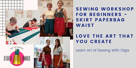 Sewing Workshop – Skirt with Paperbag Waist for perfect fit! tickets