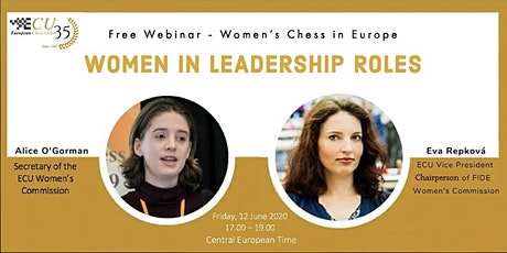 ECU Webinar - Women in Leadership Roles in Chess tickets