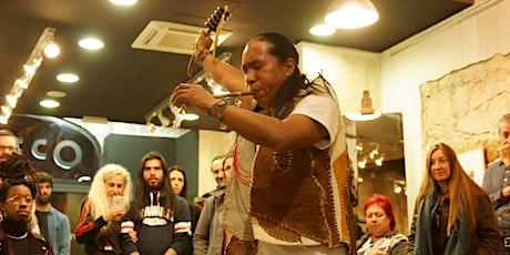 Taller experimental de arte y raíces indigenas con Jairo Palchucan entradas