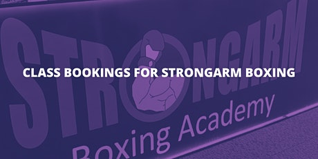 StrongArm Boxing Classes tickets
