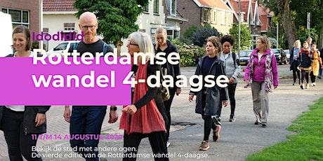 Rotterdamse wandel 4-daagse tickets