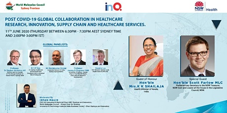 Post Covid-19 Global Collaboration in Healthcare Research and Innovation tickets