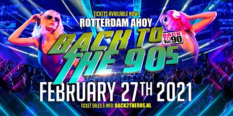 Back 2 The 90's | 27 februari 2021 tickets