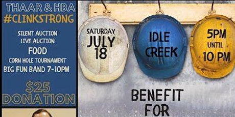 Mark Clinkenbeard Benefit tickets