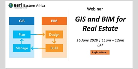 Webinar - GIS and BIM for Real Estate tickets