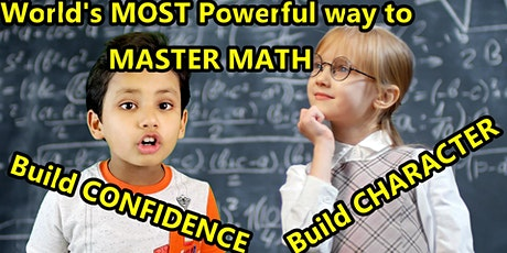 Vedic Math Free Demo class For India & USA tickets