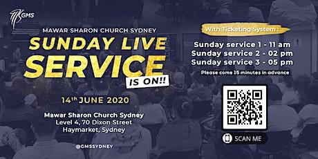 Sunday Live Service 2 @ 2pm - 14 June 2020 tickets