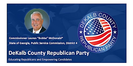 Join us on June 20 at the DeKalb GOP Breakfast with Commr. Bubba McDonald tickets