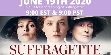 Movie Night - Suffragette tickets