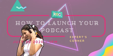 How to launch your podcast tickets