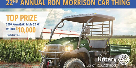 22nd Annual Ron Morrison Car Thing tickets