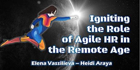 Agile People Digital HR Professional - (ICP-AHR workshop) tickets