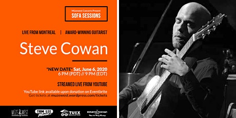 Steve Cowan, guitar -  Muzewest Sofa Sessions tickets