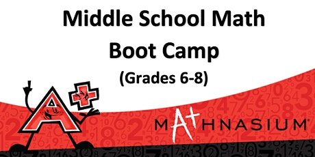 Middle School Math Boot Camp tickets