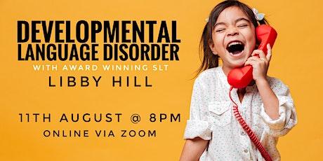 Understanding Developmental Language Disorder (DLD) - webinar tickets