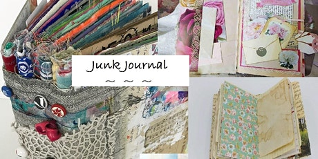 Mother and Daughter Junk /Art Journal Workshop (1) tickets