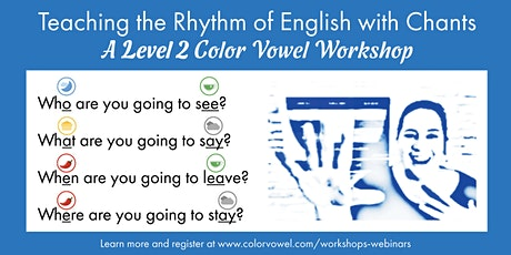 Teach the Rhythm of English with Chants tickets