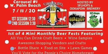 Craft Carousel Beer Festival #1 - WPB tickets
