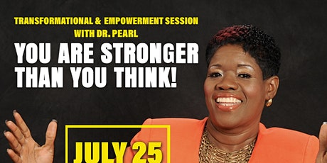 You are stronger than you think tickets