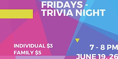 Fundraising Fridays Trivia Night tickets