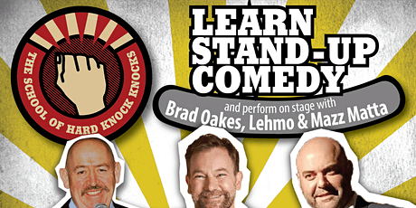 Learn stand-up comedy in Melbourne with Lehmo this August 9 - 13, 2020 tickets