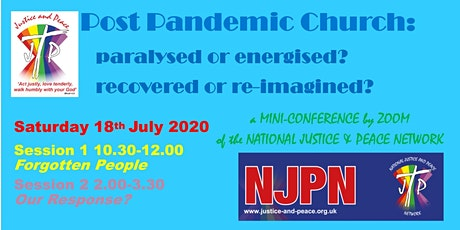 Post Pandemic Church: paralysed or energised? reco tickets