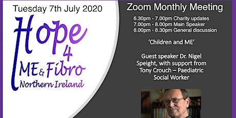 Dr Nigel Speight, with support from Tony Crouch- Children and ME tickets