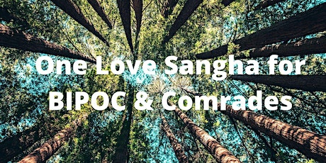 One Love Sangha for BIPOC & Comrades Meditation & Community Gathering tickets