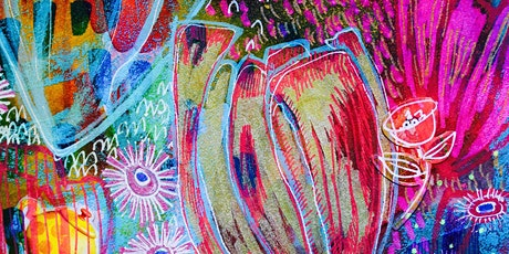 Garden in Bloom: An arty adventurous workshop in colour filled creating tickets