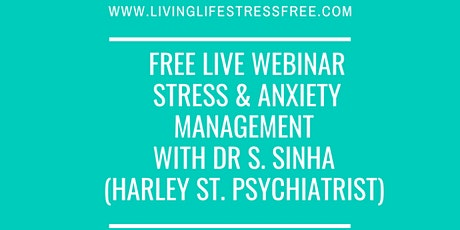 Free Webinar on Stress Management & Workplace Wellbeing tickets
