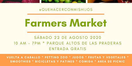 Farmers Market tickets
