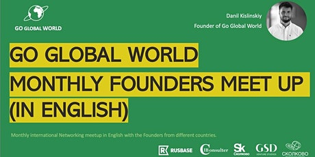 Go Global World monthly Founders Meetup (Networking in English)