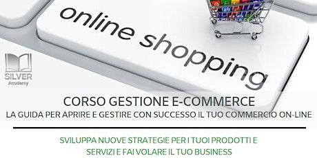 """Corso """"Gestione E-Commerce"""" biglietti"""
