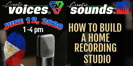 How to Build a Home Recording Studio - Voice From Home Program bilhetes