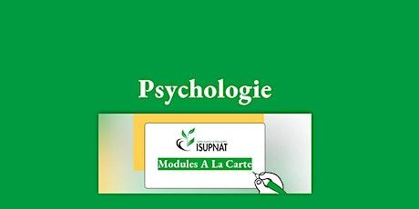 Psychologie - Module de formation à la carte billets