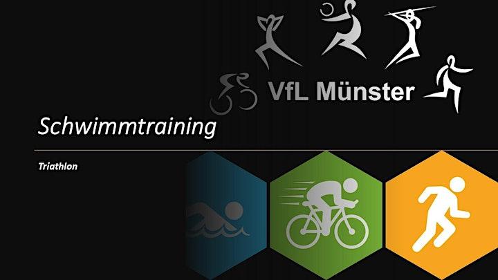 Schwimmtraining VfL Münster  Sonntag Nachwuchsleistungssport / Regio: Bild