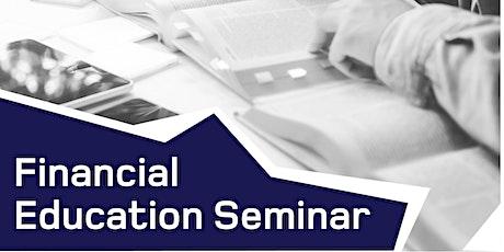 Financial Education Seminar (En  Tickets