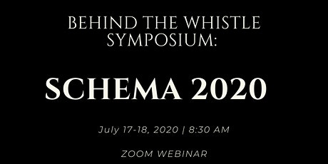 Behind the Whistle Presents: SCHEMA 2020 tickets