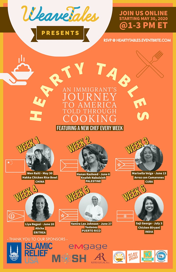 Hearty Tables: Newcomer Storytelling Through Cooking image