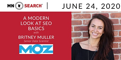 Virtual HH + A Modern Look at SEO Basics with Britney Muller