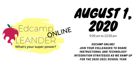 EdCamp Leander 2020: Virtual Edition tickets