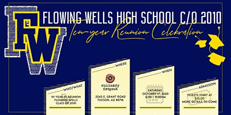 FWHS Class of 2010 Reunion tickets