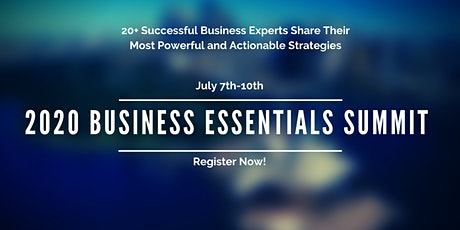 2020 Business Essentials Virtual Summit tickets