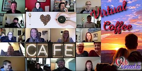 Edmonton Singles Virtual Coffee Wednesday meetup {online] tickets