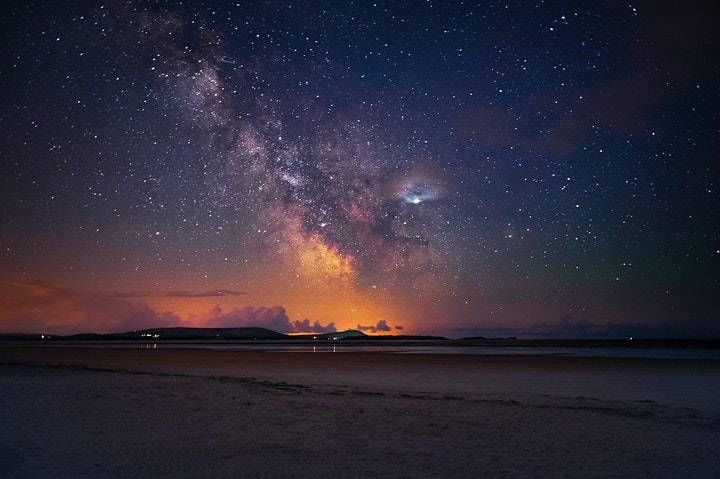 Milky Way Photography on the Gower Peninsula image