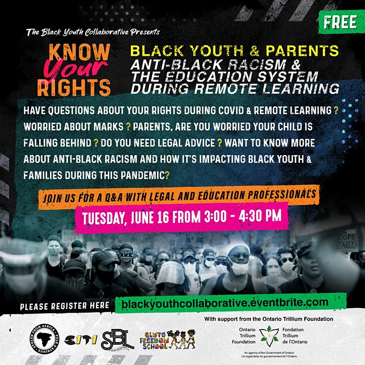 Know Your Rights: Anti-Black Racism in Education Q & A image