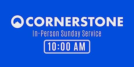 Cornerstone Church Cheshire In-Person Service - 10:00 AM tickets