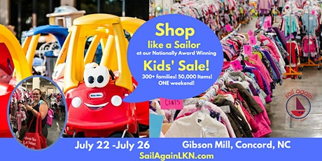 Sail Again's HOPE Sale in Concord July 22-26 tickets